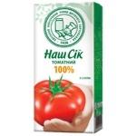 Сік томатний з сіллю Наш Сік 330мл