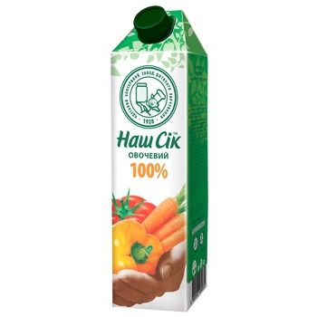 Vegetable juice Nash Sok 950ml