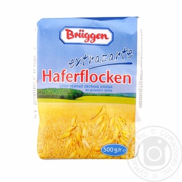 Oat flakes Bruggen wholewheat 500g - buy, prices for Metro - image 1