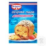 Dr.Oetker for baking with vanilla powdered sugar 80g - buy, prices for Novus - image 1