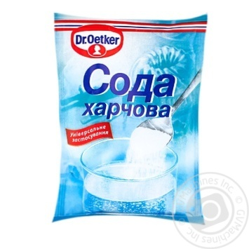 Dr.Oetker for baking soda 50g - buy, prices for MegaMarket - image 1