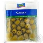 Aro Olive  pitted green 160g