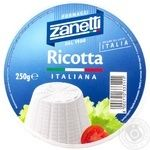 Сыр Занетти рикотта мягкий 40% 250г