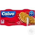 Паштет Calvo из тунца с помидорами 2х75г