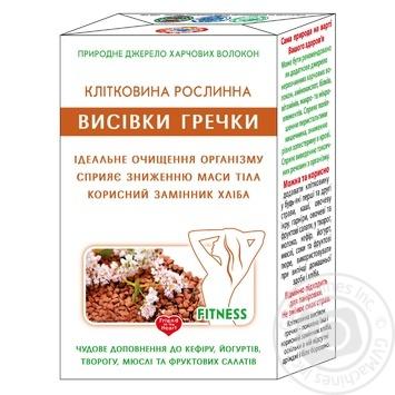 Клітковина рослинна Голден Кінгз оф Юкрейн висівок гречки дієтична добавка 160г - купити, ціни на Ашан - фото 1