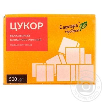 Сахар Саркара продукт прессованный 500г - купить, цены на Novus - фото 1