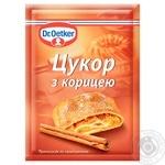 Сахар с корицей Dr.Oetker 8г - купить, цены на Novus - фото 1
