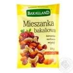 Суміш сухофруктів та горіхів Bakalland 100г