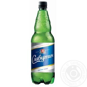 Пиво Славутич светлое 4.5% 2000мл Украина