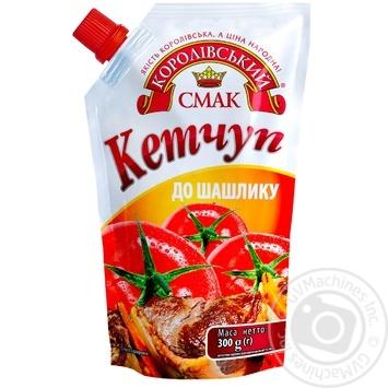 Кетчуп Королевский вкус К шашлыку 300г - купить, цены на Novus - фото 1