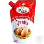 Соус Кухар Рішельє Три яйца майонезный 40,5% г/п 360г