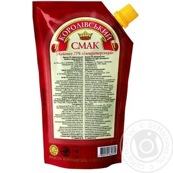 Mayonnaise Korolivsky smak Imperial 75% 700ml - buy, prices for Novus - image 2
