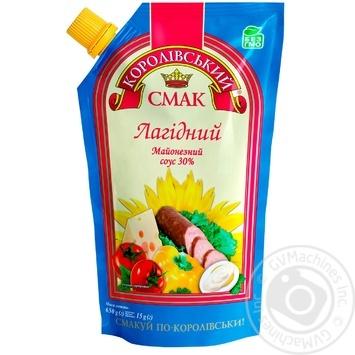 Соус майонезный Королівський смак Нежный 30% 650г