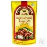 Mayonnaise Korolivskiy Smak Royal 67% doypack 200g Ukraine