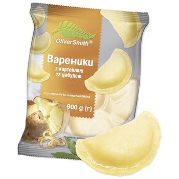 Вареники Oliver Smith с картофелем и луком 900г - купить, цены на Novus - фото 1