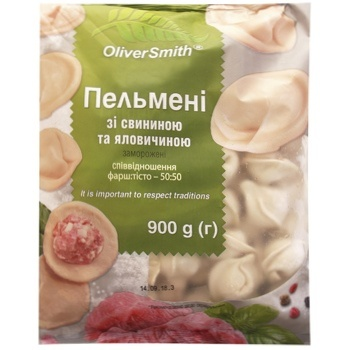 Oliver Smith Frozen Dumplings with Pork and Beef 900g - buy, prices for EKO Market - photo 3