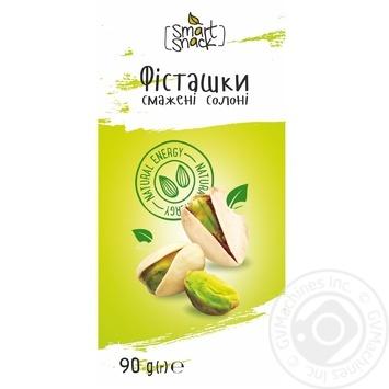 Фісташки Smart Snack смажені солоні  90г - buy, prices for Auchan - photo 1