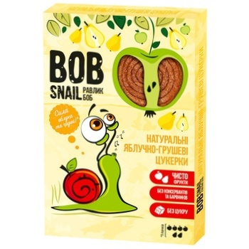 Bob Snail Natural Apple-pear Candies 60g