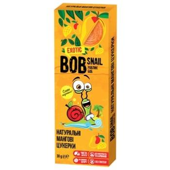 Конфеты Bob Snail натуральные манговые 30г