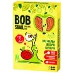 Конфеты Bob Snail натуральные яблочные 60г