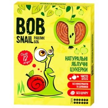 Конфеты Bob Snail яблочные натуральные 120г - купить, цены на Метро - фото 1