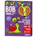 Цукерки Bob Snail яблучно-сливові натуральні 120г