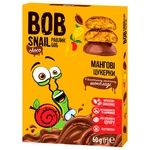 Bob Snail mango candy in milk chocolate without sugar 60g