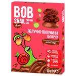 Конфеты Bob Snail яблочно-клубничные в молочном шоколаде без сахара 60г