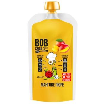 Bob Snail Mango Baby Puree 400g - buy, prices for Auchan - photo 1