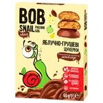 Конфеты Bob Snail яблочно-грушевые в молочном шоколаде 60г
