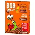 Конфеты Bob Snail хурма в молочном шоколаде без сахара 60г