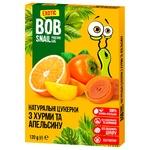 Цукерки Bob Snail хурма-апельсин без цукру 120г