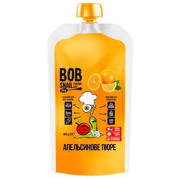 Пюре фруктове Bob Snail апельсин 400г