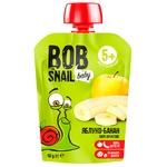 Пюре Snail Bob яблуко-банан дитяче 90г
