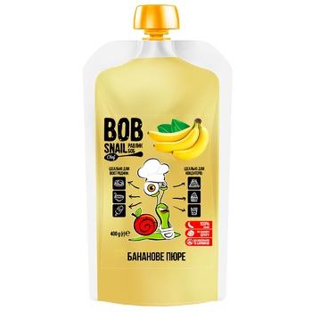 Пюре фруктовое Snail Bob Банан 400г