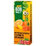 Конфеты Улитка Боб Хурма-Апельсин натуральные 30г