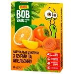 Цукерки Bob Snail з хурми та апельсину натуральні 60г