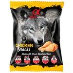 Снеки Alpha Spirit для собак со вкусом курицы 50г