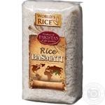 Рис World's Rice Басмати шлифованный длиннозернистый 1кг - купить, цены на Novus - фото 1