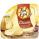Cheese Fol Epi Classic made with pasteurized milk 50% 150g