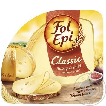 Сыр Фоль Эпи Классик полутвердый 50% 150г - купить, цены на Восторг - фото 1