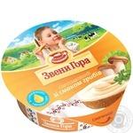 Сыр Звени Гора плавленый пастообразный со вкусом грибов 64% 90г пластиковый стакан Украина