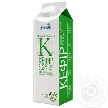Кефир Молокия Классика 3.2% картонная упаковка 930г Украина