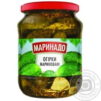 Marinado pickled cucumber 720g