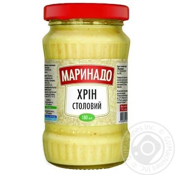 Хрін Столовий тертий Маринадо 180г