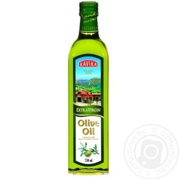 Масло Равика оливковое экстра вирджин первого холодного отжима 750мл Турция