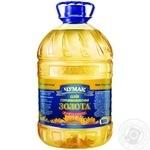 Масло Чумак Золотое подсолнечное рафинированное 5л