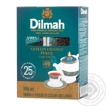 Скидка на Чай Dilmah крупнолистовой черный 100г