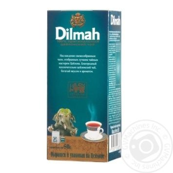 Dilmah black tea 25*2g - buy, prices for Auchan - photo 1