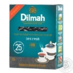 Tea Dilmah Earl grey with oil of bergamot black loose 80g cardboard packaging Sri-lanka